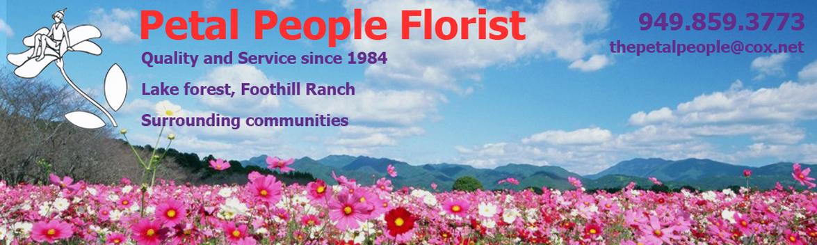 The Petal People Florist logo